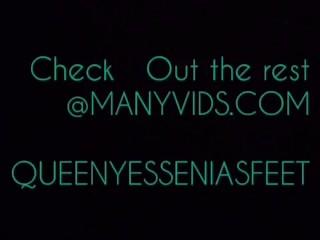 QueenYessenia Footjob Teasers