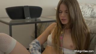 Preview 6 of 18 Virgin Sex - Virgin teen babe enjoys masturbation