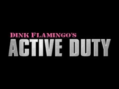 ActiveDuty Soldier's First Straight Cock and BB Fuck