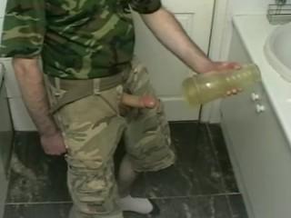 Army Fleshlight Fuck