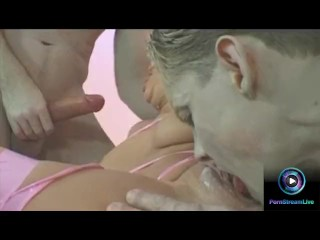 Hardcore anal threesome is what Stephanie wanted