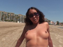 Sex with hottie french tourist