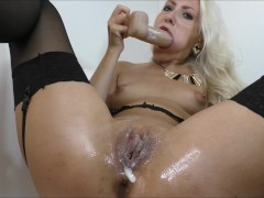 Creampie Anal Squirt Panties Stuffing (Helena Moeller)