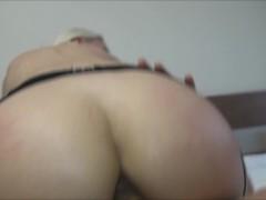 Big ass rides a dick close-up Helena Moeller