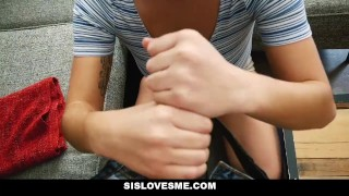 SisLovesMe- Helpful step sis finally helps me cum  step-siblings karlee-grey hairy big-tits step-brother booty cumshot busty bigtits natural-tits brunette step-sister step-sis bubble-butt sislovesme bigass bigcock naturals