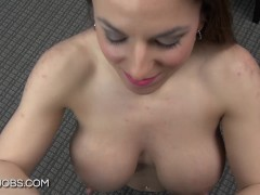 Mallory Sierra titfuck to completion