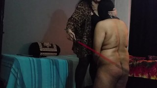 BBW Mistress Makali Smothers loser with Her massive tits  big boobs indian femdom cfnm humiliation indian bbw femdom