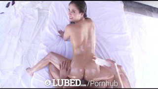 LUBED - Top voted hotties lubed up fuck and suck cock