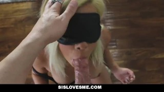 Preview 2 of SisLovesMe - Naive Step Sister Will Do Anything For My CocK