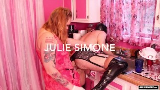 Anal Punishment - Pegging strap on femdom sissy sluts Julie Simone fetish  strap on ass fuck female supremacy pegging fetish sex redhead femdom mom kink mother anal big boobs female domination fake tits sissy slut
