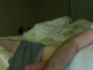 Big Cock with Boxers big Cum Shot finish