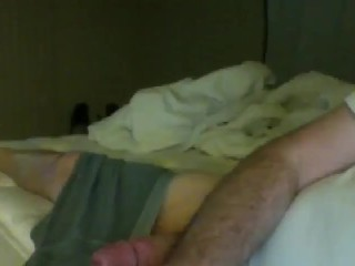Big Cock with Boxers big Cum Shot finish