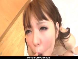 Aya Eikura likes to seduce before fucking hard