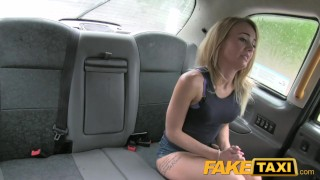 FakeTaxi Great ass and tight shaved pussy  car sex cum on ass point of view british babe blowjob amateur blonde public camera faketaxi spycam dogging tattoos small boobs taxi