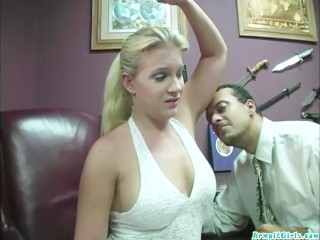 Heidi Mayne goes for a check out n her doctor gives her the big black cock
