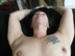 CHOKING THE SHIT OUT OF HER WHILE FUCKING HER HARD POV
