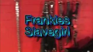 Sexy blonde femdom spanks slavegirl ass and orders her to fuck big cock toy  sex-toy spanking babe submissive-slut riding-dildo bdsm femdom blonde latex bondage adult toys slave-girl frankiebabe