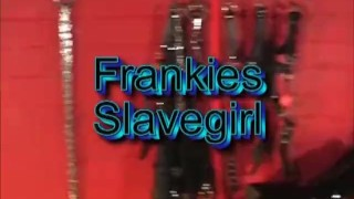 Sexy blonde femdom spanks slavegirl ass and orders her to fuck big cock toy  big tits spanking babe bdsm femdom blonde latex bondage big boobs adult toys girl on girl submissive slut riding dildo sex toy frankiebabe slave girl