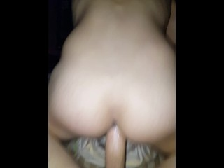 Husband breeding my ass