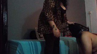 BBW Mistress Makali spanks a naughty little boy  kink indian bbw spanking punishment indian femdom indian domination spanking