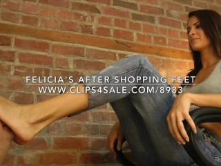 Felicia's After Shopping Feet - www.c4s.com/8983/15982778