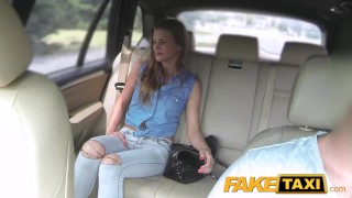FakeTaxi Lady wants to see drivers big cock  point of view big cock outdoor outside blowjob hot camera faketaxi young spycam czech dogging teenager bald pussy prague