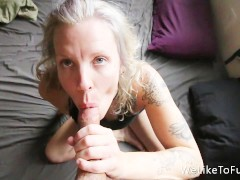 Fantastic Morning POV Blowjob