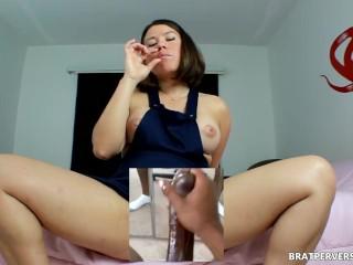 Male Masturbation with Cam Pussy - POV