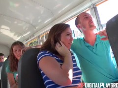 Digital Playground- Horny Students Fuck In The School Bus