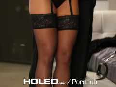 HOLED – Adriana Chechik tied up for brutal anal fuck