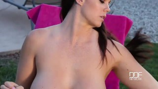 Neighbor boy Spell fucks and Stuns Big Titty Beauty  tittyfuck pink deep throat milf hardcore big tits curvy rich american ddfnetwork glamour big boobs titty fuck tattoo bikini brunette natural tits busty booty