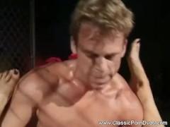 Blonde Lady Rough Sex Scene