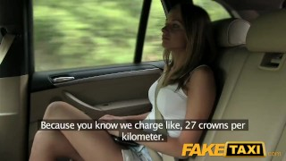 FakeTaxi Hot blonde in tight denim shorts  russian jerking cumshot pov natural-tits car reality taxi point-of-view amateur blowjob huge-cock public camera faketaxi spycam czech dogging