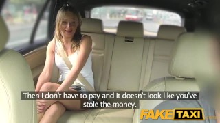 FakeTaxi Hot blonde in tight denim shorts faketaxi dogging russian taxi jerking amateur blowjob huge-cock cumshot natural-tits spycam public car pov reality camera point-of-view czech