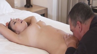 Nikko Jordan Fucks and Sucks Step Daddy with a Big cumshot load on chest!  thick asian shaved-pussy pussy-licking nikko jordan amateur cumshot fake-tits step-daughter kink curvy cowgirl slutty step-dad doggystyle kyle pornstar2016