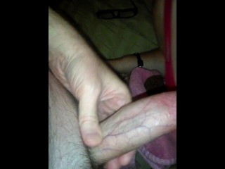 Wife Blowjob and a Movie