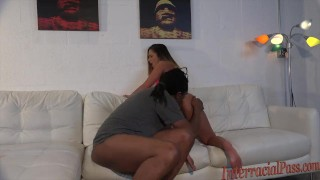 interracialpass big-cock southern-girl southern-belle massive-black-cock big-black-cock bbc black-bull blacked cock-sucking blowjob brunette babe