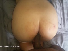 Pregnant Asian Wife Gets An Anal Creampie From A BBC