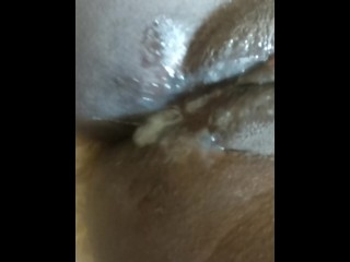 creamy young pussy