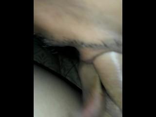 submissive guy sucks shemale dick