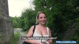 PublicAgent Big tits student s