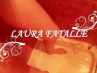 She gives you golden shower and she loves it - Laura Fatalle