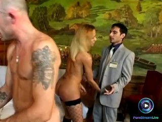 Gessica laura paola and tiffany hopkins are deepthroating experts 7