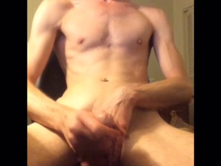 working that dick twink is stroking it hard