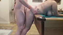 Busty Teen Gets Bent Over & Fucked