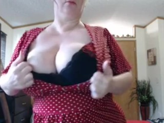 Naughty slut milf loves to drain your ball sacks as you watch this milf