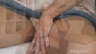 MOM Tit wank heaven with plump milf with huge natural tits  thick milf udders momxxx mom titty wank thick oiled czech mother romantic big boobs female friendly for women huge tits big tits milf