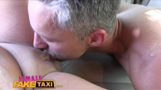 FemaleFakeTaxi Busty sexy driver milks studs cock  taxi hd sexy amateur blonde blowjob cumshot pov busty hardcore car czech femalefaketaxi