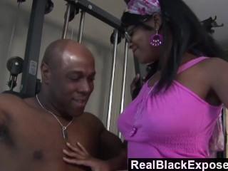 RealBlackExposed - Big Black Cock Training