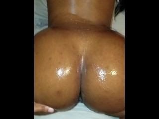 Tam's oily ass before fucking